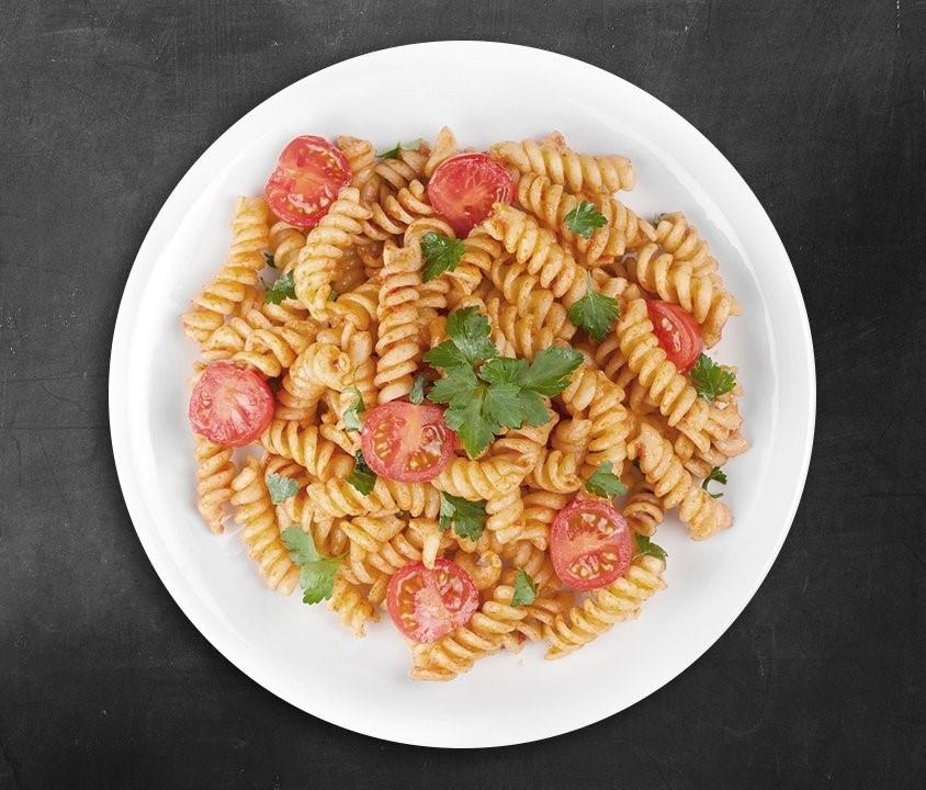 Pasta mit frischen Tomaten